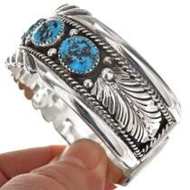 Native American Kingman Turquoise Bracelet 10965