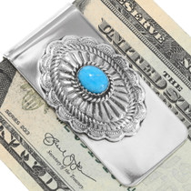 Navajo Concho Money Clip 24737