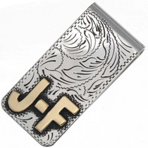Custom Silver Gold Money Clip 25935