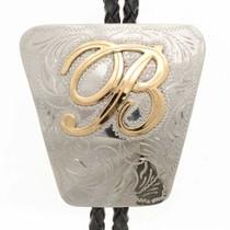 Custom Initial Bolo Tie 25921