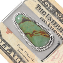 Green Turquoise Money Clip 24439