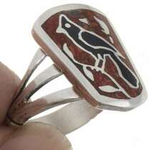 Cardinal Ladies Coral Ring 27081