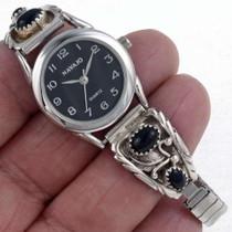 Onyx Ladies Sterling Watch 23012