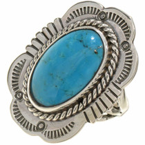 Turquoise Silver Ring 26890
