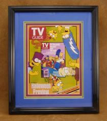 The Simpsons TV Guide Framed Enlargement 1998