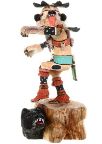 Hopi White Bear Kachina Doll 23842