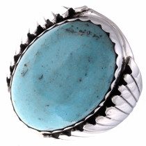 Native American Mens Turquoise Ring 23322