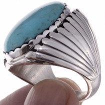 Navajo Turquoise Ring 23322