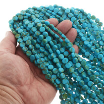 16 Inch Turquoise Strands 25613