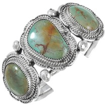 Turquoise Sterling Silver Cuff Bracelet 20914