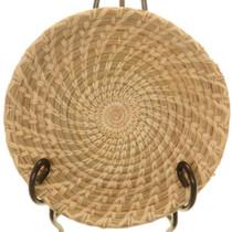 Vintage Tohono O'odham Tray Basket 25767