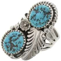 Natural Kingman Turquoise Ring 27139