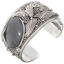 Big Boy Hematite Cuff Bracelet 25862