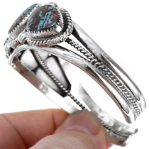 Southwest Sterling Silver Turquoise Bracelet 23328