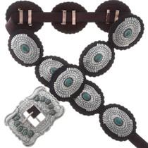 Turquoise Concho Belt 24698