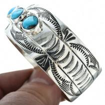 Navajo Turquoise Ladies Bracelet 11501