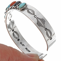 Turquoise Malachite Row Bracelet 23228
