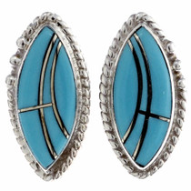 Zuni Turquoise Stud Earrings 25013
