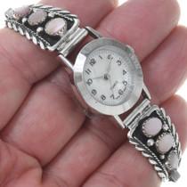 Iridescent Pink Shell  Watch Bracelet 23528