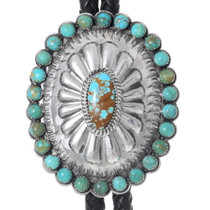 Emerald Valley Carico Lake Turquoise Bolo Tie 22585