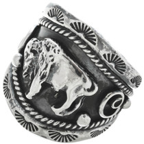 Native American Buffalo Ring 22532