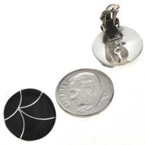 Clip On Zuni Sterling Earrings 33067