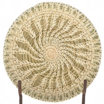 Papago Handwoven Shallow Bowl Basket 22547
