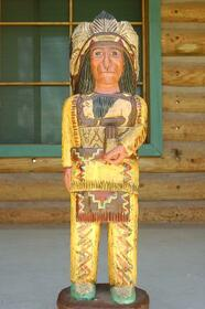 Cigar Store Indian Chief  34016
