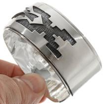 Overlaid Sterling Cuff Bracelet 23746