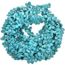 Turquoise Magnesite Teardrop Beads 30869