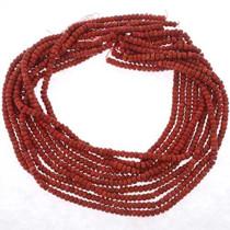 5mm x 3mm Falt Round Beads 25622