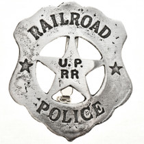 Union Pacific Railroad Police Badge 17588