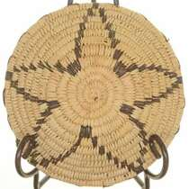 Vintage Star Handwoven Southwest Basket 25710