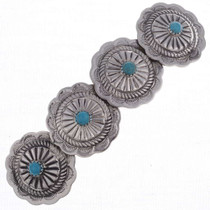 Turquoise Concho Hair Barrette 24524