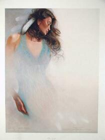 Blue Navajo Limited Edition Art Print 35720