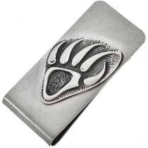 Navajo Bear Paw Money Clip 25888