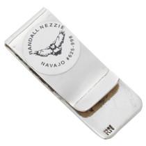Navajo Silver Handmade Money Clip 22840