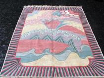 Handmade Wool Pile Rug 25133