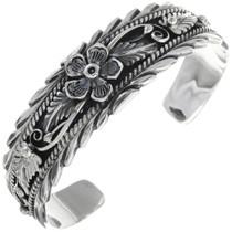 Native American Traditional Silver Bracelet 14581