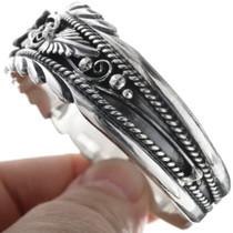 Navajo Sterling Ladies Cuff Bracelet 14581