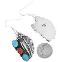 Navajo Hallmarked Earrings 26668