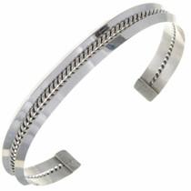 Navajo Silver Unisex Cuff 27799