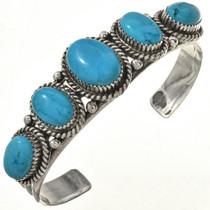 Native American Turquoise Cuff Bracelet 22552