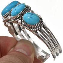 Navajo Turquoise Cuff Bracelet 22552