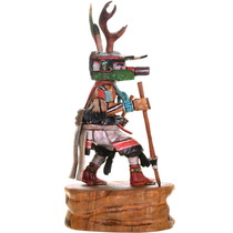 Hand Carved Cottonwood Native American Kachina 21468