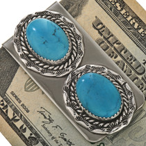Native American Turquoise Money Clips 22269