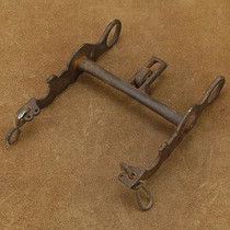 Vintage Antique Western Collectible Curb Roller Bit Cowboy Tack 50 and 75 years old (Whooooo !!!!!)
