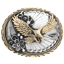 Golden Eagle Buckle 24055