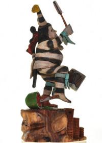 Pueblo Clown Dancer 26905