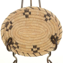 Papago Indian Oval Basket 25711